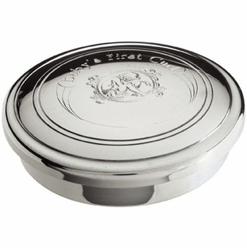 Salisbury Pewter Baby First Curl Box