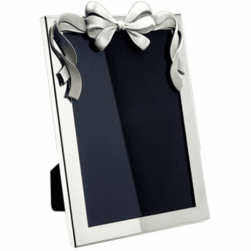 Salisbury Pewter Bow Picture Frame - 5x7 in.
