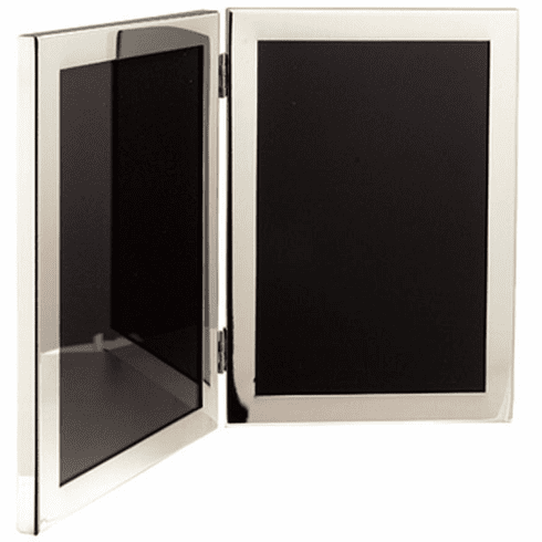 Salisbury Pewter Double Picture Frame - 5x7 in.