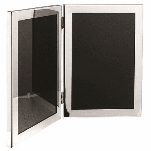 Salisbury Sterling Silver Double Picture Frame - 5x7 in.