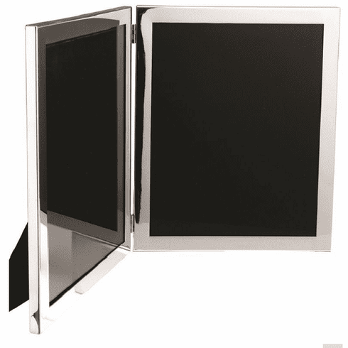 Salisbury Sterling Silver Double Picture Frame - 8x10 in.