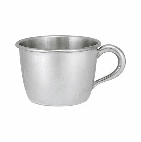 Woodbury Pewter Child's Cup - Small Handle - 5 oz.