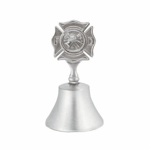 Woodbury Pewter Fire Dept. Bell - 3 1/2 in.
