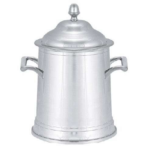 Woodbury Pewter Lidded Cannister - 7in