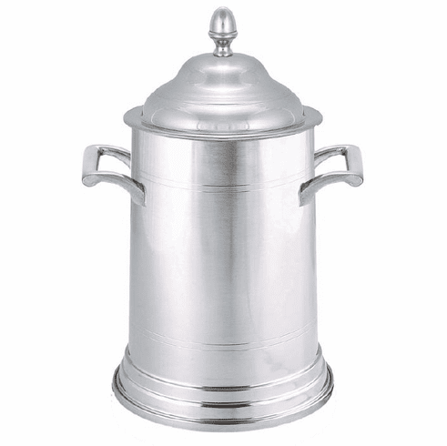 Woodbury Pewter Lidded Cannister - 9in