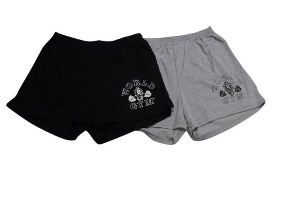 2 Pack- World Gym Basic Workout Short