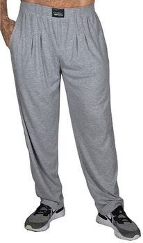 Crazee Wear Classic Relaxed Fit Baggy Pants - Grey