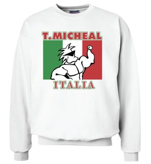 Collector's Item-Italian Heritage Sweatshirt- Limited Edition- Sold Out