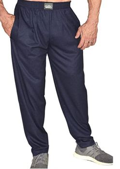 Limited Edition- Crazee Wear Classic Relaxed Fit Baggy Pants- Navy Park Place