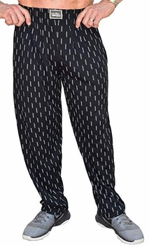 Crazee Wear Classic Relaxed Fit Baggy Pants- 3D Lines