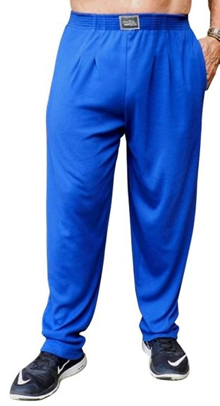 Crazee Wear Classic Relaxed Fit Baggy Pants- Pacific Blue