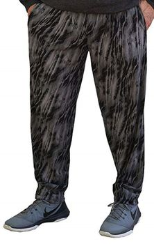 Crazee Wear Classic Relaxed Fit Baggy Pants- Phantom