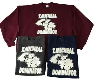 "New- Dominator ""Joe Blockhead"" Sweatshirt II- Style D002"