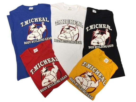 New- Premium T. Micheal Tee with Front & Back Print- #101CFB