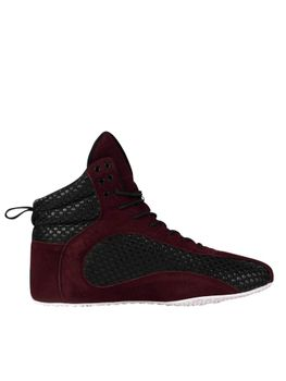 Ryderwear D-Mak Carbon Shoe- Burgundy