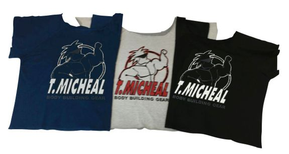 T. Micheal Work Out Top- #101ANEW- Factory Direct
