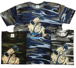 "New- T. Micheal ""Mr. Bruno"" Premium Camo Tees # 184C"