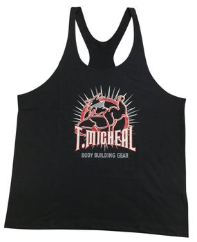 "New- T. Micheal ""Mr Spike"" Premium Stringer Tank Top- #185BStringer"