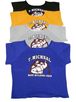 T. Micheal Work Out Shirt- #101A Org
