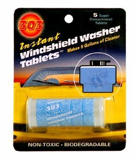 303 Windshield Washer Tablets