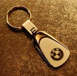 BMW Swivel Key Chain