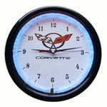 Corvette Plasma Clock