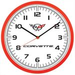 Corvette Wall Clock