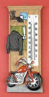 Cycle Resin Thermometer