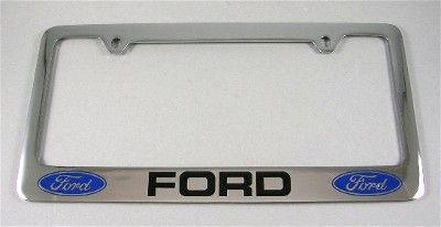 Ford License Frame