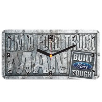 Ford License Plate Clock
