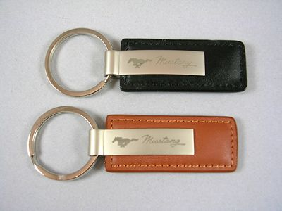 Mustang Leather Key Chains