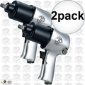 Astro Pneumatic 1812 1/2-Inch Super Duty Impact Wrench Twin Hammer 2x