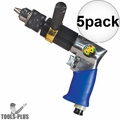 "Astro Pneumatic 527C 1/2"" Heavy Duty Reversible Pneumatic Air Drill 5x"