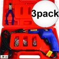Astro Pneumatic 7600 Hot Staple Gun Kit for Plastic Repair 3x