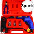 Astro Pneumatic 7600 8pk Hot Staple Gun Kit for Plastic Repair