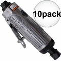 "Astro Pneumatic T210 1/4"" Pneumatic Air Die Grinder w. Safety Lever 10x"
