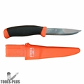 "Bahco 2444 4"" Mora Swedish Multi-Purpose Stainless Steel Knife w/ Holster"