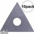 "Bahco 449 1"" Replacement Triangle Blade 10x"