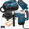 "Bosch 11264EVS 1-5/8"" SDS-Max Rotary Hammer and Vacuum HEPA Kit X1"