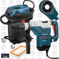 "Bosch 11264EVS 1-5/8"" SDS-Max Rotary Hammer and Vacuum HEPA Kit"