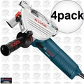 Bosch AG50-10TG 10 Amp Angle Grinder with Tuckpointing Guard 4x