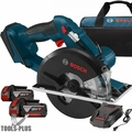 "Bosch CSM180-01-RT 18V Li-Ion 5-3/8"" Metal Cutting Circular Saw Kit"