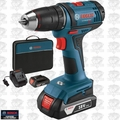 "Bosch DDB181-02-RT 18V Li-Ion 1/2"" Compact Tough 2-Battery Drill/Drive"
