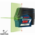 Bosch GCL100-80CG-RT 12V Max Connected Green-Beam Cross-Line Laser w/ Plumb