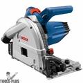 Bosch GKT13-225L 6-1/2 In. Track Saw with Plunge Action