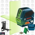 Bosch GLL 100 GX-RT Recon Self-Leveling GREEN-BEAM Cross-Line Laser 4x
