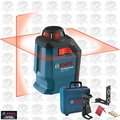 Bosch GLL 2-20 360 Degree Self-Leveling Line and Cross Laser