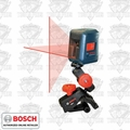 Bosch GLL2 Self-Leveling Cross Line Laser w/Flexible Mount