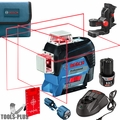 Bosch GLL3-330C 360deg. Connected 3-Plane Leveling and Alignment-Line Laser