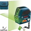 Bosch GLL75-40G 75' Green-Beam Self-Leveling Cross-Line Laser (Recon)